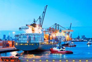 import vessel arrival